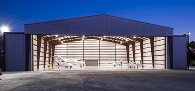 Gray Aviation Hanger